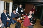 Presidentti Kari johti kokousta ja Ville-Galle kirjasi asiat ATK:lla