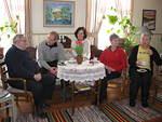 Hos Gustav o Doris i Kronoby 13.3.2010