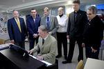 """Överlåtelse av piano till """"Juttutupa""""(lions i Karleby)"""