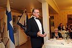 Liiton edellinen puheenjohtaja Tuomo Holopainen kiinnitti juhlapuheessaan huomioita klubimme ja jäsentemme aktiiviseen toimintaan.