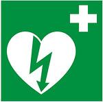 Sydäniskurin tunnistaa vihreästä opasteesta.