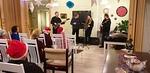 Kunnan Pojat esittivät kauniita joululauluja joihin myös yleisökin lauloi mukana.