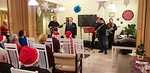Klubin presidentti Jukka-Pekka Alasuutari esitti kiitokset esiintyjille ja tapahtumassa mukana olleille ja toivotti hyvää joulunodotusta.