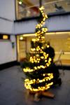 Ja niin joulun valot syttyivät Katriinan sairaalaan.