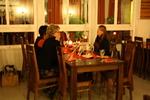 Joulukuun klubikokousta viettämässä Pitokartanossa