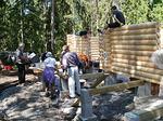 Partiolaiset ahertavat Mattilat töissä ja Olli A tutkii että mennään pirustusten mukaan
