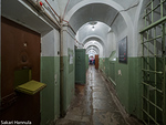 Sellikäytävä KGB:n paikallisessa päämajassa. (Vilna, Liettua)