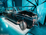 Leonid Brezhnevin 1980 kolaroima Rolls-Royce Silver Shadow vm. 1966. (Riian automuseo, Latvia)