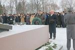 N-piirin seppele laskettiin Marsalkka Mannerheimin hautapaadelle, laskijoina kuvernööri Veikko Teerioja ja varapiirikuvernööri Aarne Kivioja.