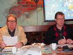 """Kokousta johti """"presidenttiharjoittelija"""" Timo Rantanen ja kokoussihteerinä toimi Jaakko Koskinen.  Ensimmäinen varapresidentti Timo johti puhetta, sillä kauden presidentti Kari Kammonen oli sairaana."""