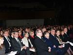 Rakkaimpia joululauluja oli kuuntelemassa myös entisiä kansainvälisiä johtajia ja Liiton entisiä puheenjohtajia.