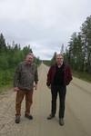 Lemmenjoelle pitkä suora Jaakon ja Pertin takana.