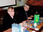 Presidentti Pertti Huovinen kiitti vierailijoita ja päätti kokouksen.  Varasihteeri Hannu Salo kirjasi asiat muistiin.