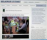 Lahjoituksemme on myös Helsingin Uutisten verkkosivujen kumppanuusosiossa. Floorankentän vastuuhenkilö niillä sivuilla on Sakari Hannula ja tämä oli ensimmäinen juttu Floorankentän aktiviteetista Helsingin Uutisten kumppanuussivuilla.