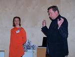 Illan isäntänä Raimo Paappa avasi piirin sosiaalisen viestinnän koulutustilaisuuden Tekniikan museolla.