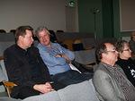 Markku Heinaro ja Raimo Paappa vaihtoivat ajatuksia sosiaalisen viestinnän koulutuksessa.