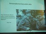 Rintamakomentajuuden aika. Marsalkka C.G.E. Mannerheim ja kenraariluutnantti Oesch.