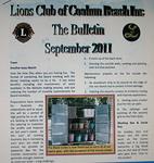 Kuukausittainen Bulletin on tärkeä sisäisen tiedotuksen väline.