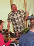Illanistujaisen alussa LC Kiikalan presidentti Matti Kaase toivotti floorankenttäläiset vieraat tervetulleeksi.