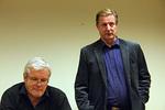 Jäsenkandidaatti Timo Rantasella on leijonakokemusta jo Joensuun ajoiltaan. Vas. Kari Kammonen.