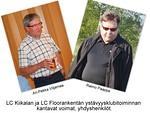 Kiikalan Ari-Pekka Viljamaa ja Floorankentän Raimo Paappa ovat ystävyysklubitoiminnan kantavia voimia, yhdyshenkilöitä.