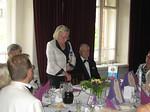 Lion presidentti Raili Tanskanen lausui tervetuliaissanat