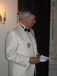 Lions-liiton pääsihteeri Markus Flaaming esitti liiton tervehdyksen