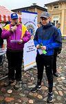 Rauma Reimarin jäsen, DG Aarno Niemi avaamassa tapahtumaa ja vieressä kansandustaja Matias Marttinen valmistautumassa puheenvuoroonsa.
