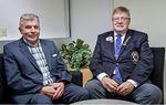 Reimarilaiset DG Aarno Niemi ja Jorma Salvi ovat toimineet aktiivisesti kävelyn järjestämisessä ja saaneet mukaan muita mukaan. Kuva: Raumalainen / Pekka Lehmuskallio