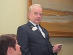 Tervetulotoivotuksen esitti N-piirin kuvernööri Aarne Kivioja.