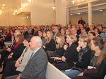 Yleisöä oli Myyrmäen kirkon verran.