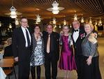 Australialaisvieraat ja heidän isäntäväkensä Suomessa.  Vas. Jouko Kontturi, Donna ja Steve Grech, Leena Kuismanen ja Ulf Nummelin sekä Liisa Rytkönen-Kontturi.