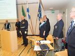 Liput saapuivat Helsinki Idän presidentin, ylikonstaapeli Juha Sinkkosen johdolla.  Vuorossa Leijonahenki.