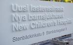Tervetuloa Uuteen lastensairaalaan.<br>