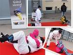 Judokat kiinnostivat myös lapsia.