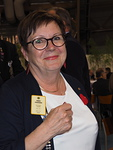 Valituksi kauden 2017-2018 varapuheenjohtajaksi tuli PDG Pirkko Vihavainen D-piiristä.