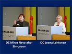 DC Mirva Neva-aho-Simonsen kertoi perusteilla olevasta Leo-klubista ja hän innosti panostamaan edessä olevaan kansainväliseen nuorisoleiriin - niin taloudellisesti kuin vaikkapa greeter-toiminnankin kautta. DC Leena Lehtosen vetämä ohjelmatoimikunta tekee erinomaista työtä, jonka hedelmiä piirimme leijonat saavat nauttia monin eri tavoin.